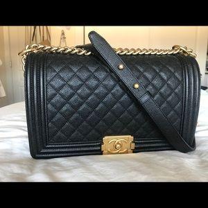 Chanel boy Medium size I use 3 times
